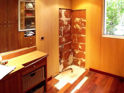 Création d'une douche à l'italienne Releck-Kerhuon 2